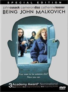 Being John Malkovich ~ Directed by Spike Jonze. With John Cusack, Cameron Diaz, Catherine Keener, John Malkovich. A puppeteer discovers a portal that leads literally into the head of the movie star, John Malkovich. Cameron Diaz, Love Movie, Movie Stars, Movie Tv, Great Films, Good Movies, Awesome Movies, Watch Movies, Quero Ser John Malkovich