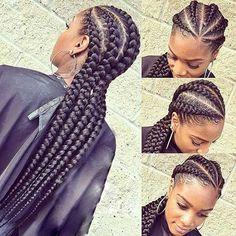 Big Cornrows Braids Hairstyles Ideas 31 stylish ways to rock cornrows hair cornrows african Big Cornrows Braids Hairstyles. Here is Big Cornrows Braids Hairstyles Ideas for you. Big Cornrows Braids Hairstyles fancy outfit ideas for rasta brai. Feed In Braids Hairstyles, Crochet Braids Hairstyles, African Hairstyles, Braided Hairstyles, 4 Feed In Braids, Teenage Hairstyles, Hairstyles 2018, Black Hairstyles, Natural Hair Braids