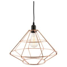 Casa Uno Iron Diamond Geo Pendant Light