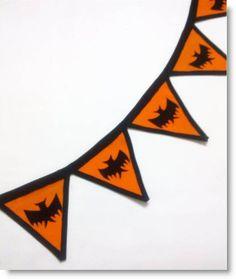 Felt Bunting for Halloween Tutorial · Felting | CraftGossip.com