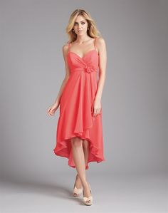 Bridesmaid dress, available in 55 colors (Juniper is approximately equivalent to Kelly Green).