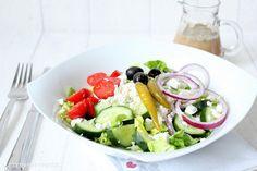 Rezepte mit Herz ♥: Griechischer Bauernsalat