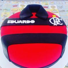 Bolo Flamengo!!! #cake #bolo #confeitaria #pastaamericana #flamengo #bolocamisadetime