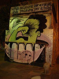 Mural in barceloneta