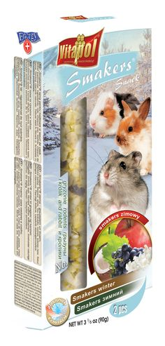 #Smakers for #hamsters by #Vitapol, #ComplimentaryFood