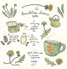 Tee Kunst, Dungeons E Dragons, Dream Tea, Herbal Magic, Herbal Witch, Baby Witch, Witch Aesthetic, Brewing Tea, Tea Recipes