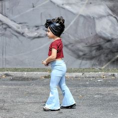 Shop for handmade, vintage, custom, and unique gifts for everyone Denim bell bottoms for kids - light baby blue bell bottoms - flare pants kids Trendy Baby Clothes, Girls Fashion Clothes, Baby Girl Fashion, Toddler Fashion, Kids Clothing, Cute Kids Clothes, Cute Kids Fashion, Little Girl Outfits, Toddler Girl Outfits