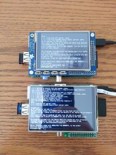Raspberry Pi screen blacks