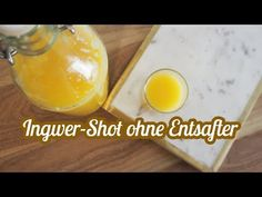 Erkältungssirup mit Ingwer und Zitrone aus dem Thermomix TM5 - YouTube