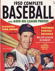 1950 Complete Baseball / Ted Williams