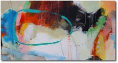 «In Time» – akryl på lerret - 153x81 cm.  Kunstner - Ira Ivanova.  Original - utstilt hos Galleri Fenka. Tilgjengelig som kunsttrykk: A2-kr 1.200,-, A3-kr 900,-, A4-kr 600,-
