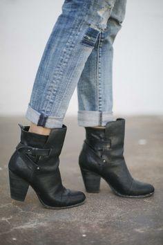 black ankle boots | It List