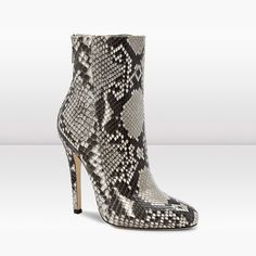 Jimmy Choo Python Ankle Boot