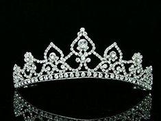 Bridal Rhinestone Crystal Wedding Prom Princess Tiara Crown Review