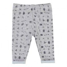 Pantalon Imprimé Indien Gris  Billybandit