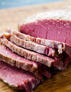 Home Cured Corned Beef ~ How to easily cure your own corned beef, with beef brisket, pickling spices, and salt. ~ SimplyRecipes.com