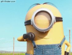 Despicable Me Minions GIF - DespicableMe Minions Approved - Discover & Share GIFs Minion Gif, Minions Love, My Minion, Funny Minion Pictures, Funny Minion Memes, Minions Quotes, Despicable Me 2, Cute Gif, Funny Quotes
