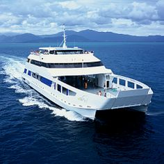 What a magnificent vessel. The MICAT holds up to 52 vehicles and 600 passengers as she cruises across Moreton Bay and lands directly on the white sands of Moreton Island. Saint Helena Island, St Helena, Land Of Oz, Sands, Fishing Boats, Cruises, Vehicles, Life, Beaches