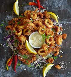 10 Spanish tapas recipes for an easy and cheap aperitif - Calamari Tapas Recipes, Seafood Recipes, Italian Recipes, Appetizer Recipes, Cooking Recipes, Healthy Recipes, Italian Foods, Cheap Recipes, Seafood Appetizers