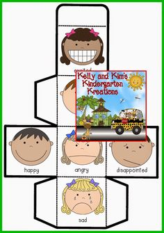 fun way to incorporate several math skills in a cooperative learning math game! Emotions Activities, Writing Activities, Cube Games, Activity Cube, Cooperative Learning, Feelings And Emotions, Kindergarten Worksheets, Math Games, Small Groups