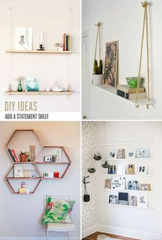 DIY ideas to try – Add a statement shelf
