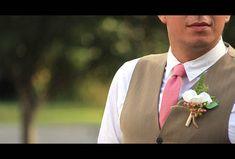 Mens Tie Dusty rose Cotton Men's necktie TC090_2017