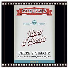 Ginuzzo Nero d'Avola 2012 Label