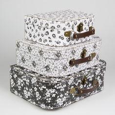 Set de 3 valises «Alphonsine»
