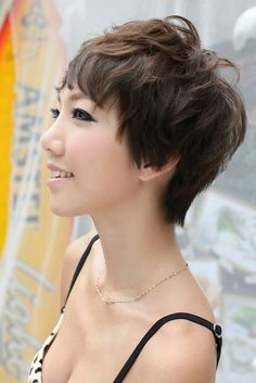 girls short haircuts stran hair for me but style 9560 | c8cdba392db62639709472e08791184d short pixie hairstyles girl hairstyles