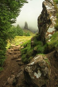 Mystical, Isle of Skye, Scotland. When we go to Scotland. I want to visit the Isle of Skye. Oh The Places You'll Go, Places To Travel, Places To Visit, Travel Destinations, Travel Tourism, Beautiful Landscapes, Wonders Of The World, Beautiful Places, Scenery