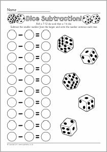 Print and cut out the manipulative fraction pizzas to make