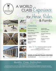 World Equestrian Center Invitational  Candace FitzGerald (603) 738-2788 Dawn Martin (937) 283-6480
