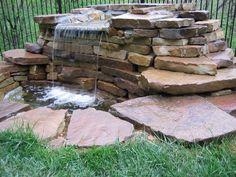 Kansas City Landscaping Waterfall Water Feature