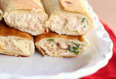 Chicken & Cream Cheese Taquitos