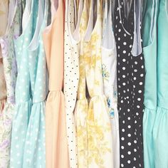 Can you even imagine how darling a wardrobe like this would be?
