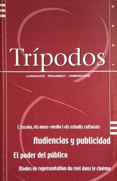 Revista Trípodos, 8, Facultat de Comunicació Blanquerna, Universitat Ramon Llull, 1999