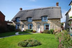 Fabulous County of Devonshire - England Cottages England, Beautiful Homes, Beautiful Places, Beautiful Scenery, Beautiful Pictures, English Country Cottages, Stone Cottages, House Names, Cottage In The Woods