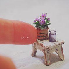 Miniature room details