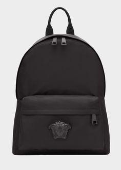 3952f75dcb Medusa Head Nylon Backpack for Men