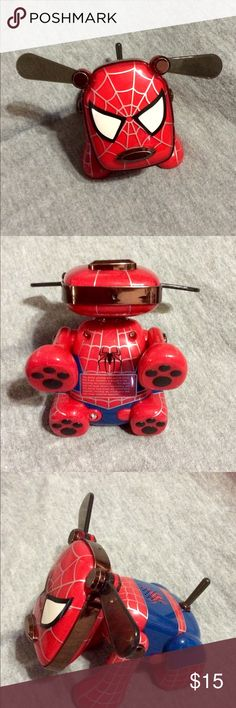 Spider-Man IDOG Rare Awesome IDOG. Takes batteries. Works great. I do not have the cords. Listing is for IDOG only. Accessories