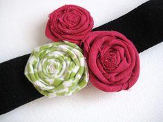 Little and Lovely: flower headbands