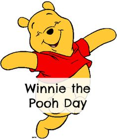 January 18th is Winnie the Pooh Day!  Try a few of these fun ideas and crafts with your family. #pooh #disney #holiday #kids
