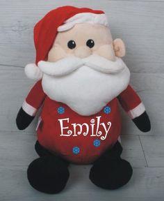 Santa Personalised Teddy