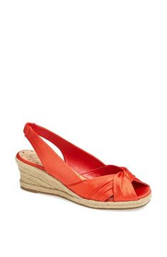 Sangria' Peep Toe Wedge Espadrille by BELLA VITA   $42.00  #freeshipping