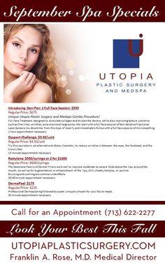 Unique Utopia Plastic Surgery and Medspa Combo Procedure! Full Face Treatment…