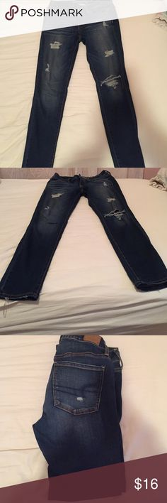 American Eagle Jeans •size 6 •Super Stretch• Size 6. American Eagle. Super stretch jeggings. So cozy! American Eagle Outfitters Jeans Skinny