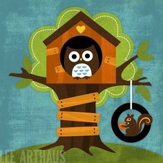 Owl tree house (one of my favorites)
