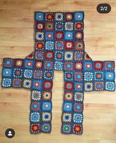 Pull Crochet, Gilet Crochet, Crochet Quilt, Crochet Cardigan Pattern, Crochet Jacket, Crochet Poncho, Crochet Motif, Crochet Designs, Granny Square Crochet Pattern