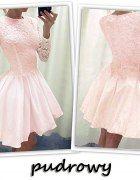 ROZKLOSZOWANA SUKIENKA KORONKOWA 2 kolory   Cena: 79,00 zł  #suknie #innasukienka #czarnesukienki