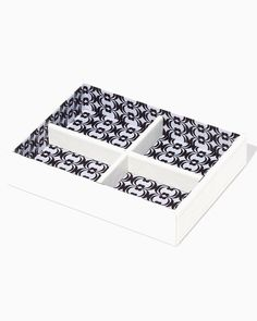 Damask Small Jewelry Tray Organization Storage charming